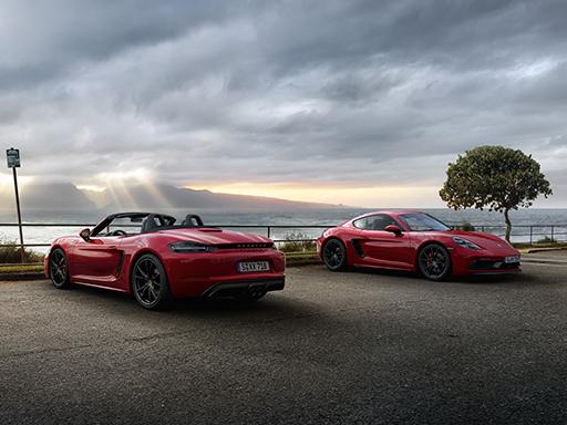 Kurvenhunger. Die neuen 718 GTS Modelle.
